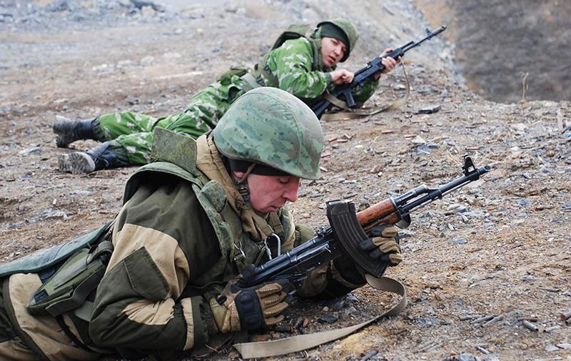 Солдаты ДНР
