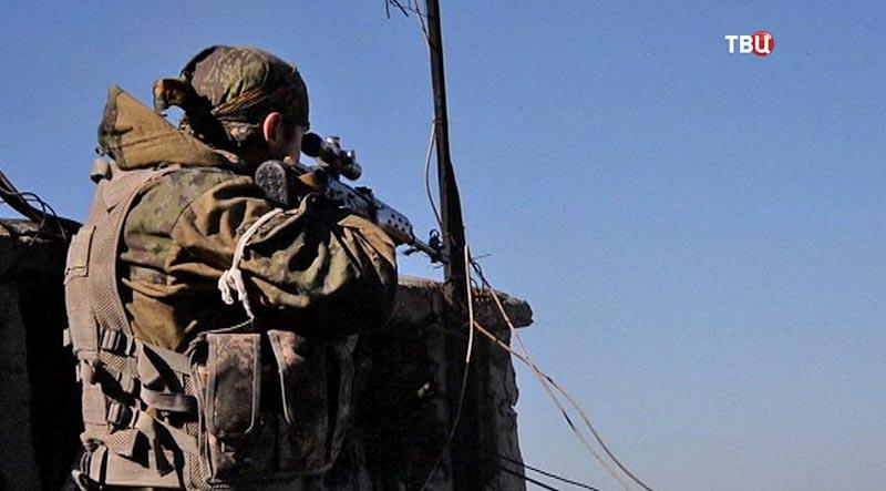 """11 Журналист """"ТВ Центра"""" рассказал, как попал под обстрел в Донбассе"""