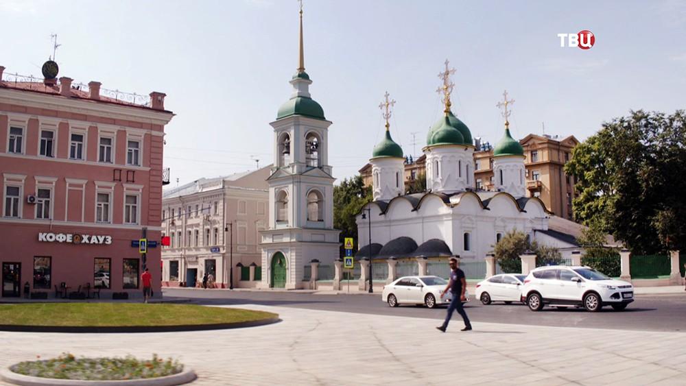 Троицкая церковь на улице Сретенке