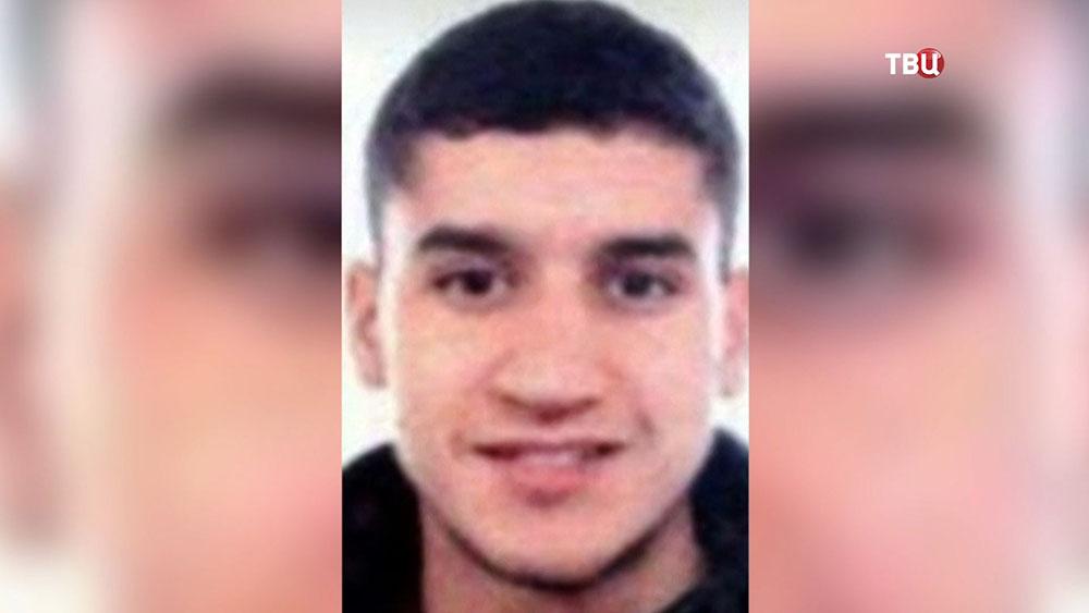 Исполнитель теракта в Барселоне Юнес Абуякуб
