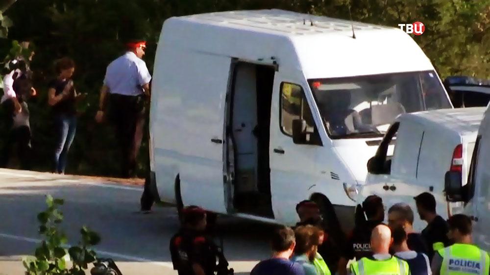 Спецоперация полиции Испании