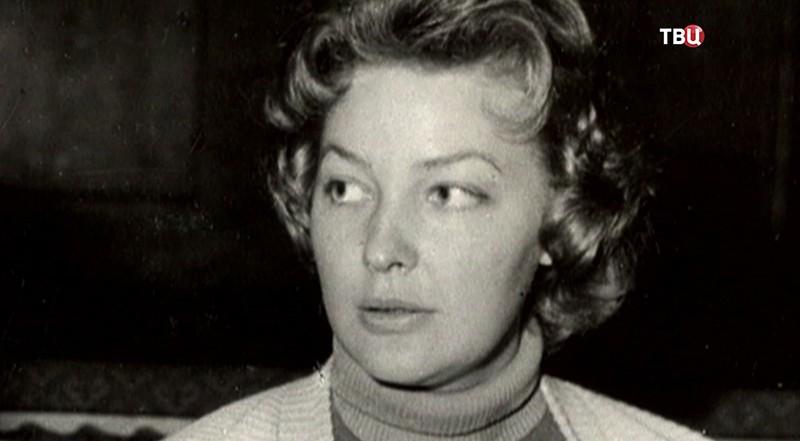 Народная артистка РСФСР Ирина Скобцева