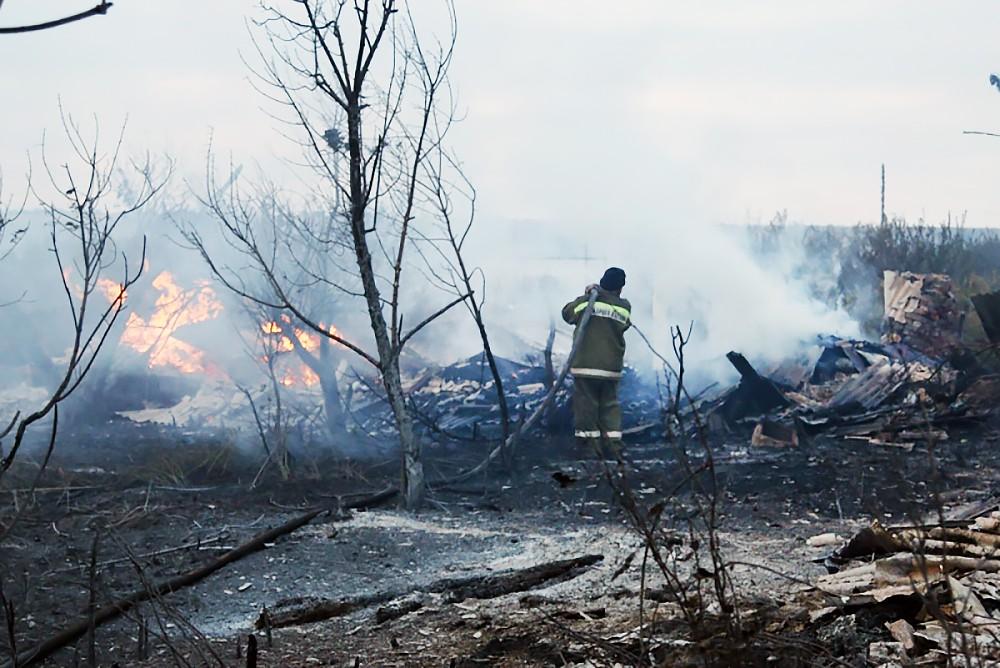 Последствия степных пожаров