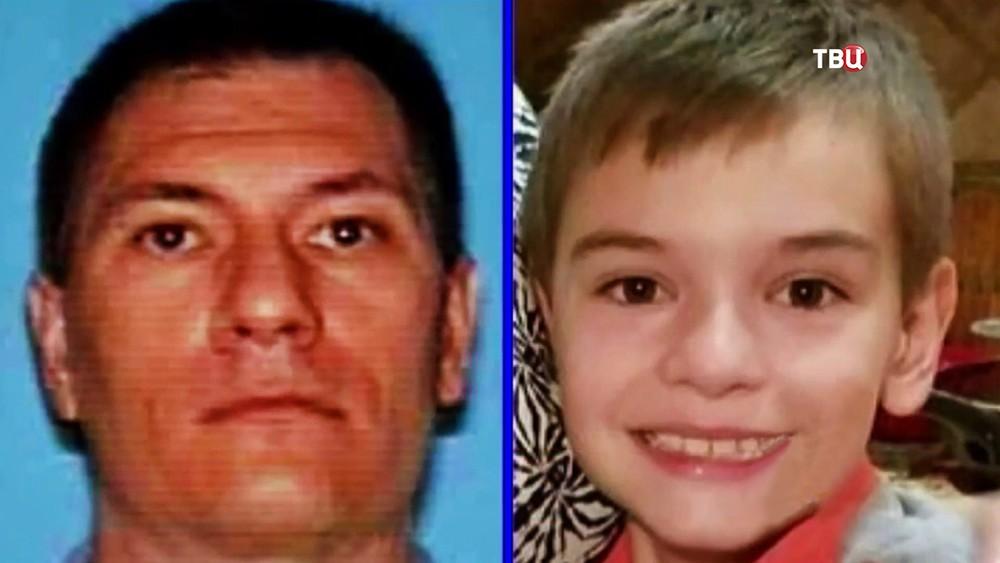 Убитый в США россиянин Константин Морозов и его сын