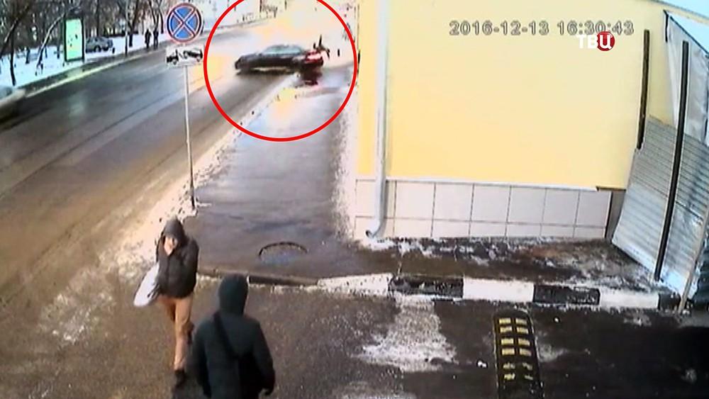 Смертельное ДТП на Бауманской улице