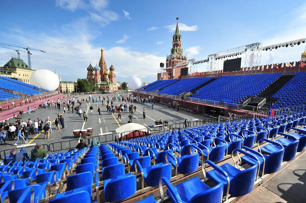 """Подготовка к фестивалю """"Спасская башня"""""""