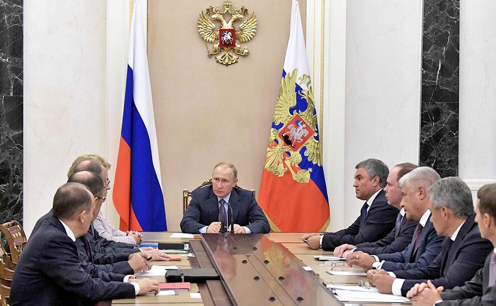 Заседание Совбеза России