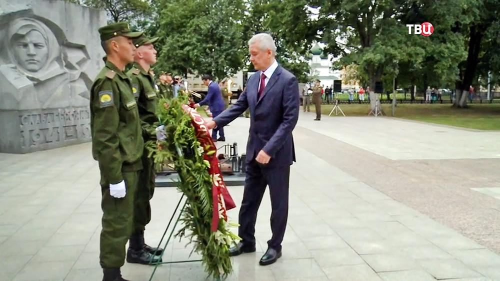 Сергей. Собянин в Ярославле