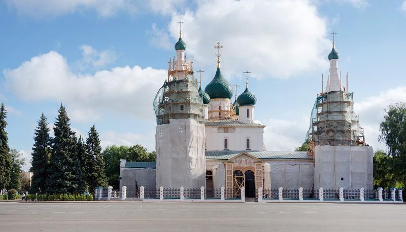 Реставрация храма в Ярославле