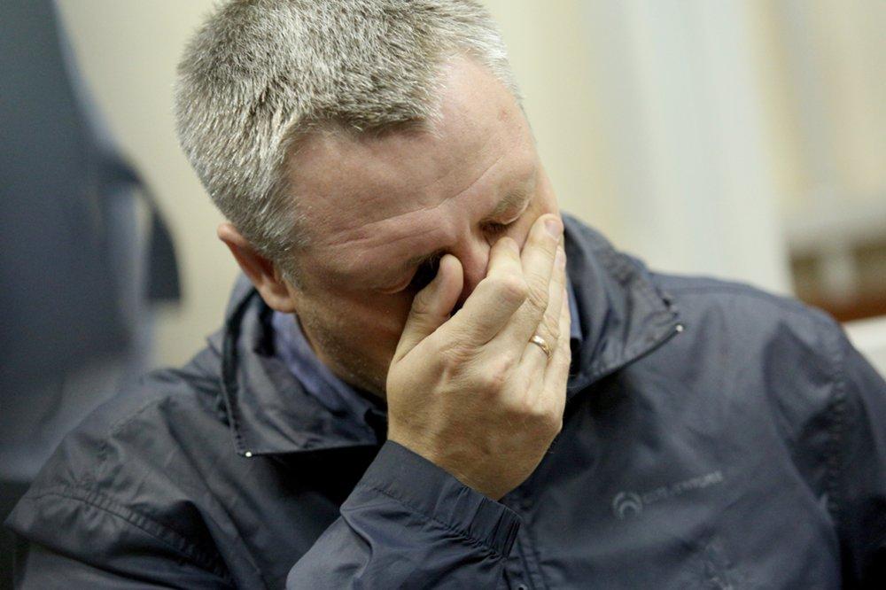 Отец ребенка Роман Шимко во время рассмотрения по существу уголовного дела в отношении Ольги Алисовой,
