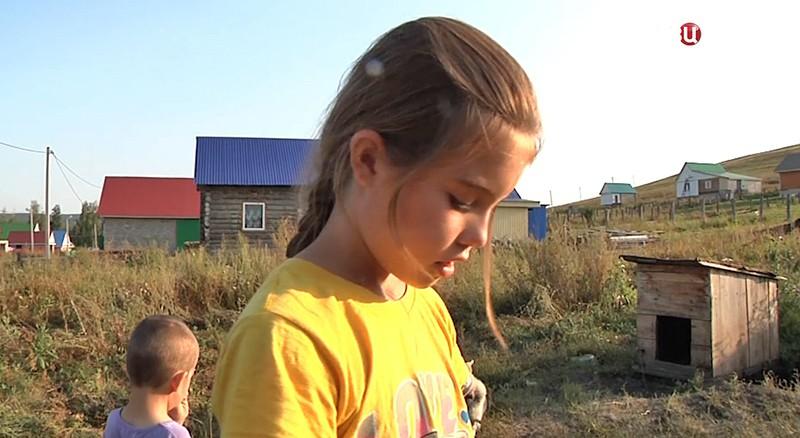 Школьница из Башкрии спасшая своих братьев и сестер