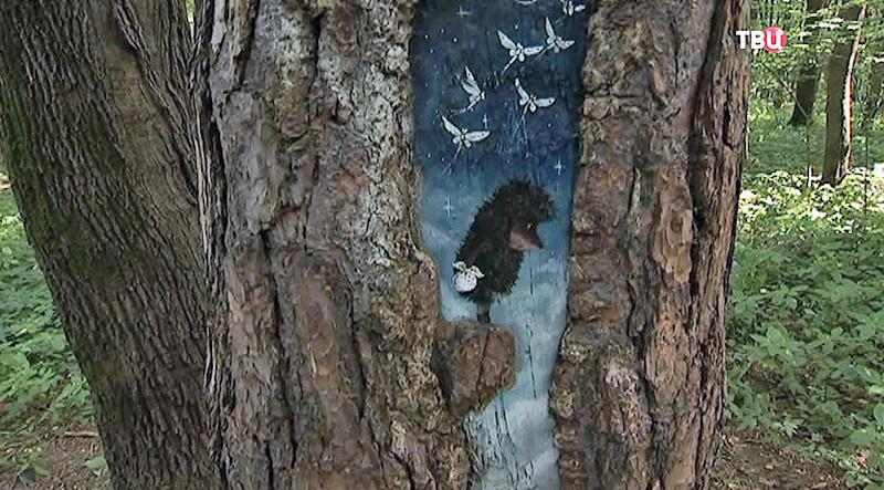 Расписанные деревья