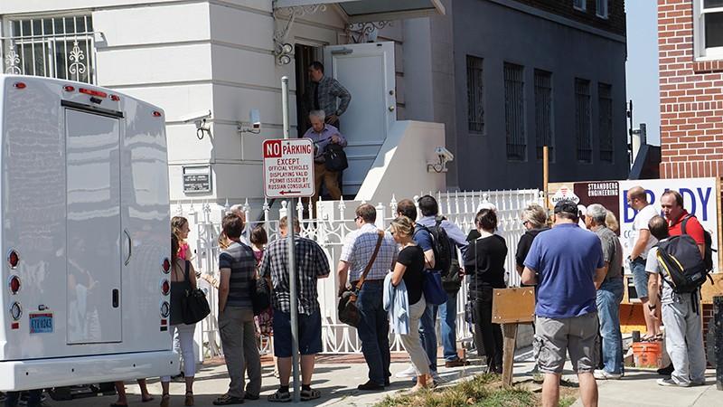 Российское консульство в Сан-Франциско, США