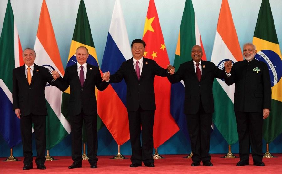 Лидеры стран БРИКС