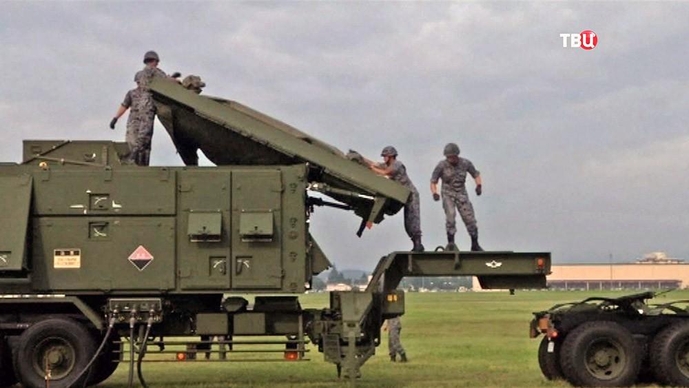 Системы ПВО в Японии