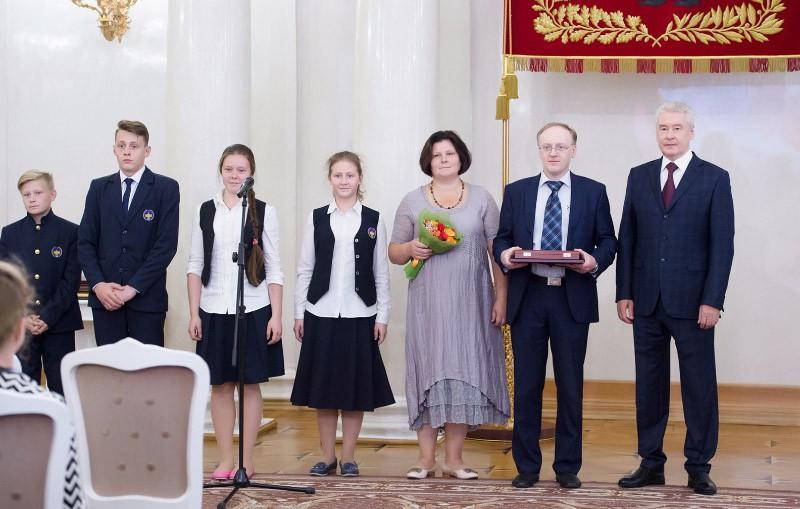 Сергей Собянин вручил награды и благодарности жителям Москвы
