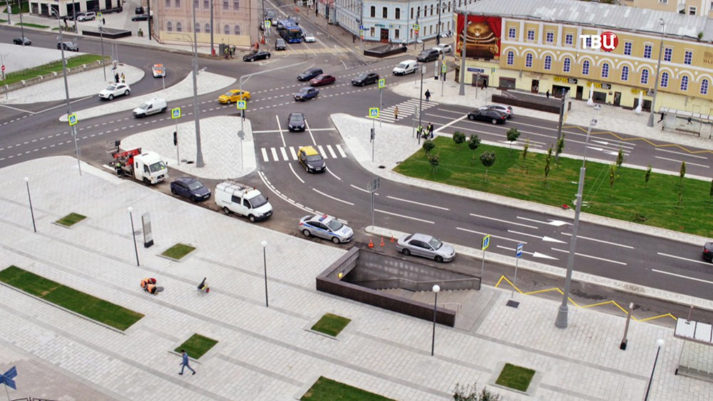Благоустройство пешеходной зоны
