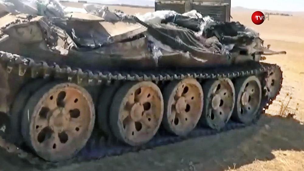 Последствия военных действия в Сирии