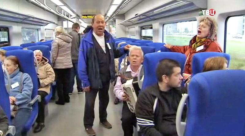 Экскурсию по МЦК для пенсионеров