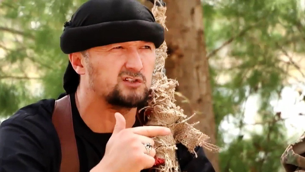 """Ликвидированный """"министр войны ИГ"""", экс-главу таджикского ОМОНа Гулмурод Халимов"""