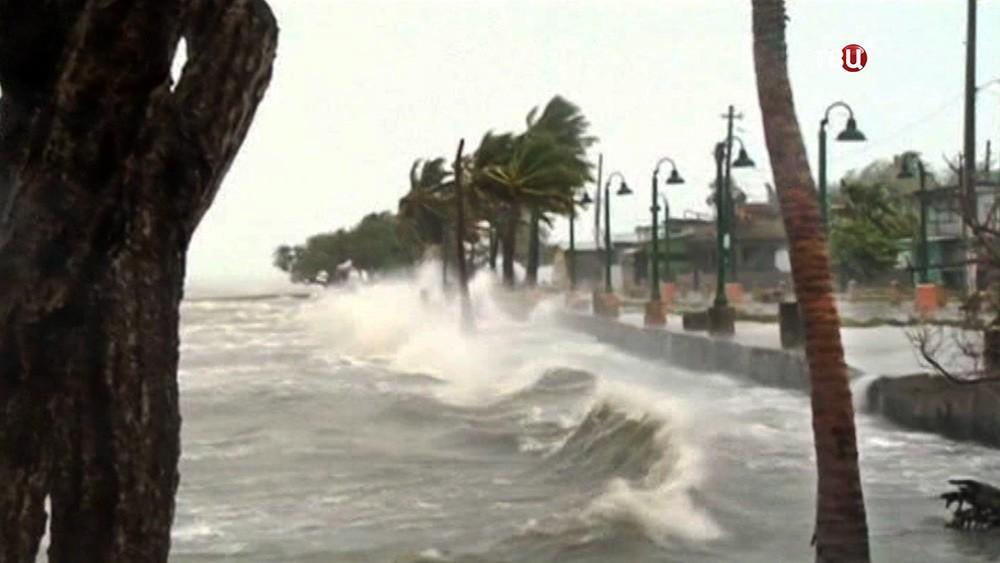 Ураган на побережье