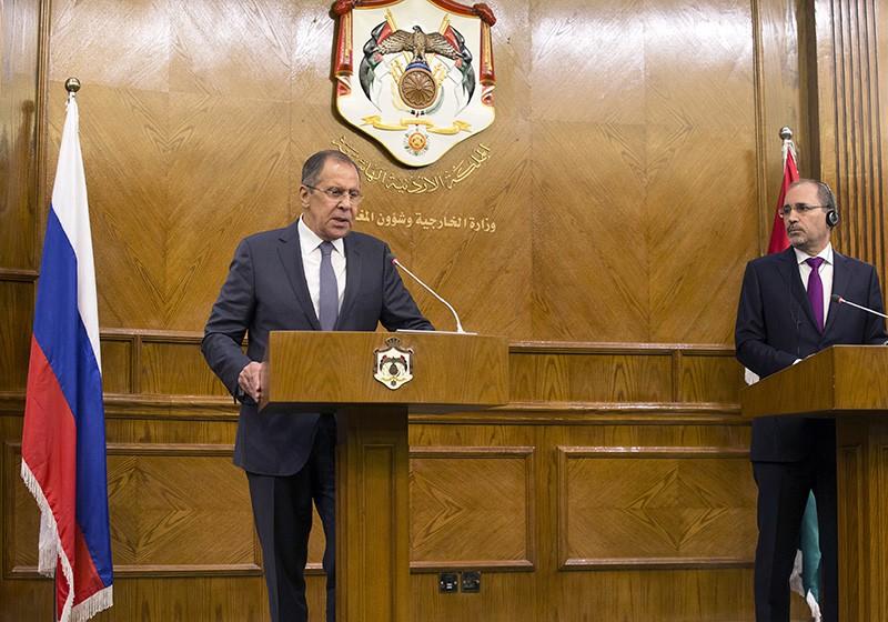 Визит главы МИД России Сергея Лаврова в Иорданию