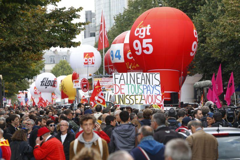 Шествие в Париже