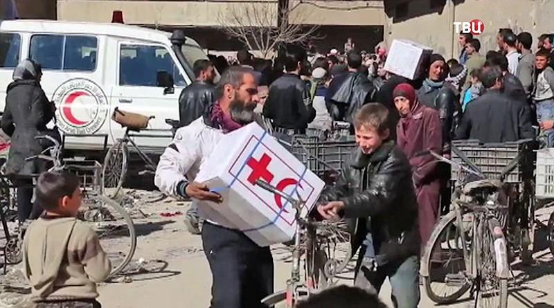 Гумпомощь для Сирии