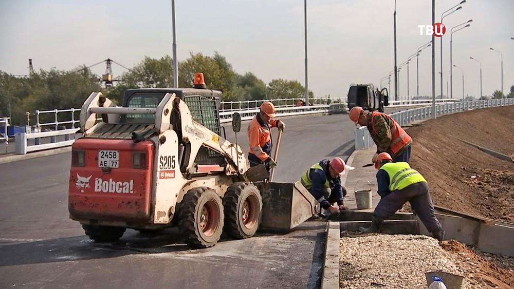 Строительство нового путепровода