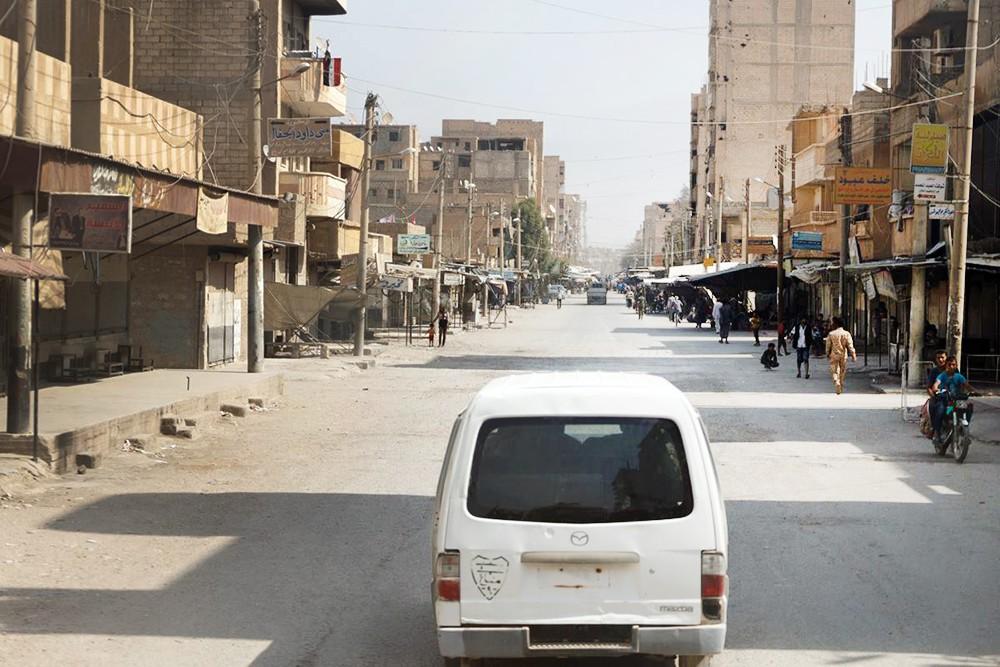 Автомобильное движение в Сирии