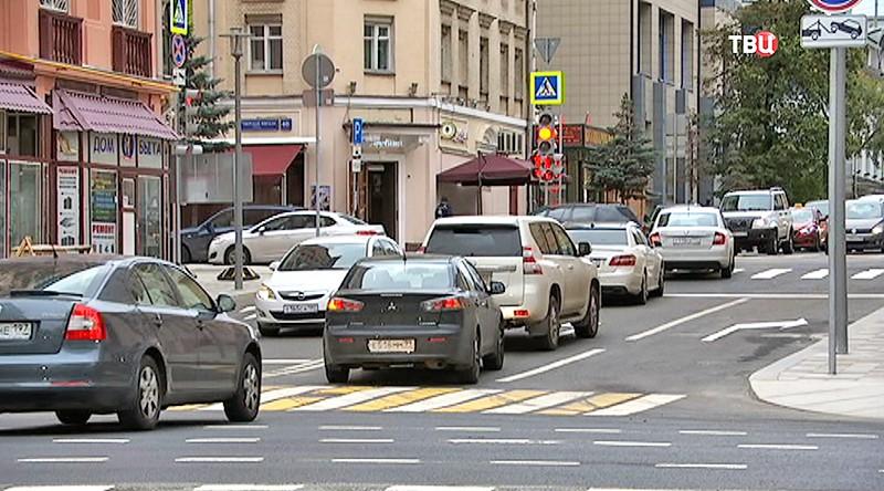 Сквозной проезд через 1-ю Тверскую-Ямскую улицу