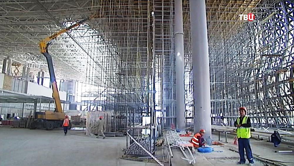 Строительство нового аэропорта в Симферополе
