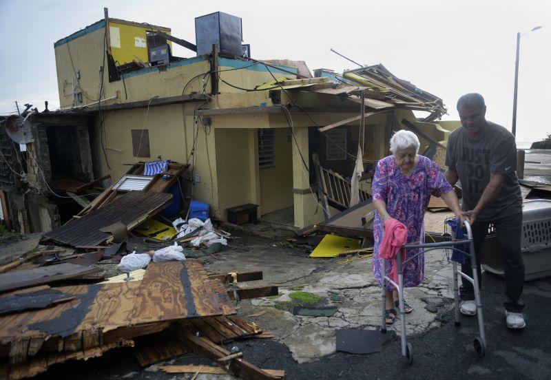 "Последствия урагана ""Мария"""