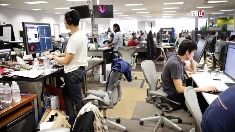 Офис компании Facbook
