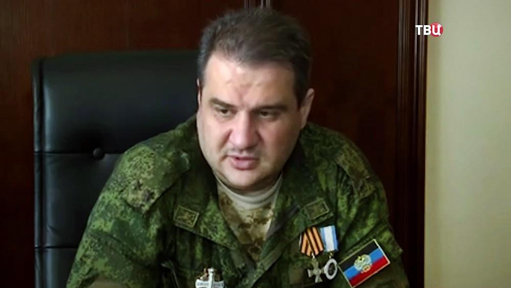 Министра доходов и сборов ДНР Александр Тимофеев