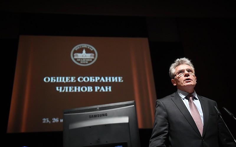 Академик Александр Сергеев, избранный президентом РАН