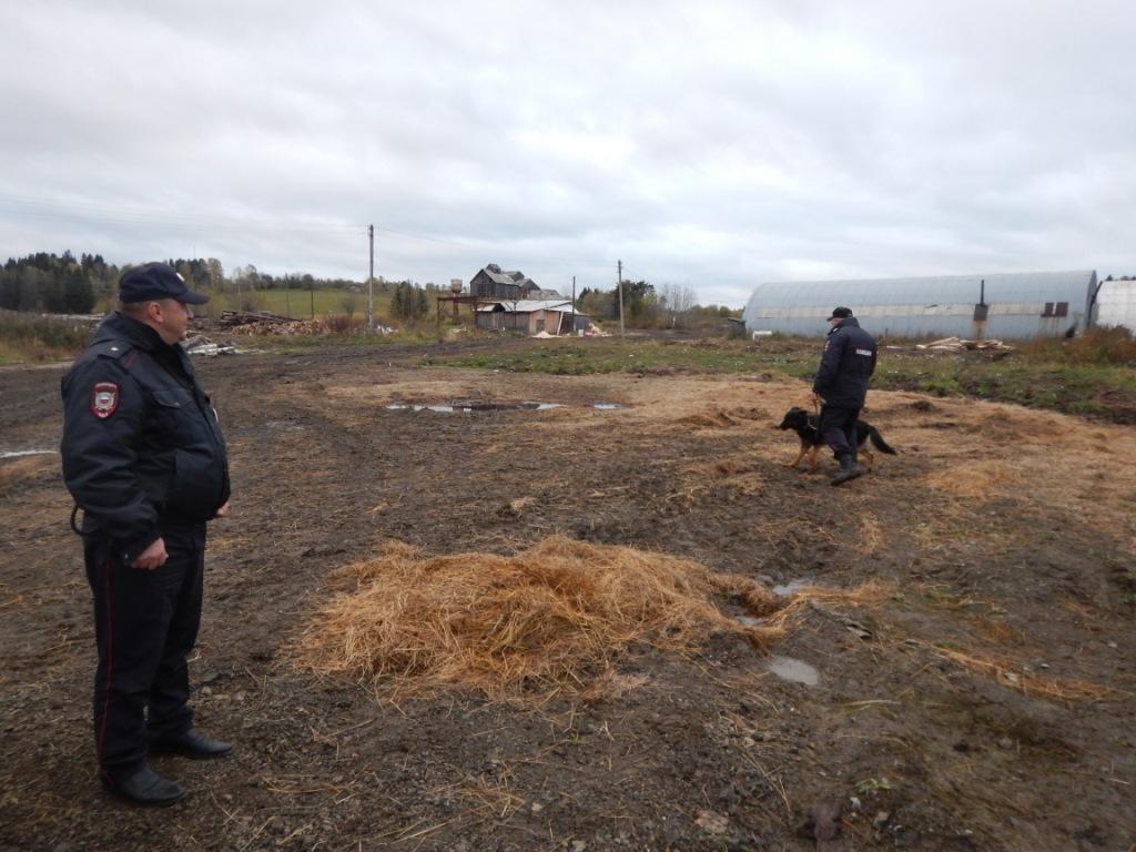 Место преступления в Свердловской области