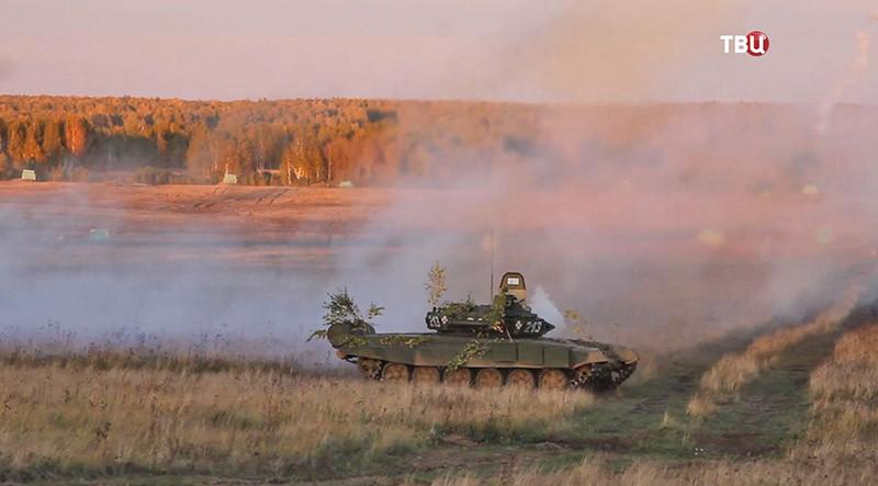 Учения танковых войск