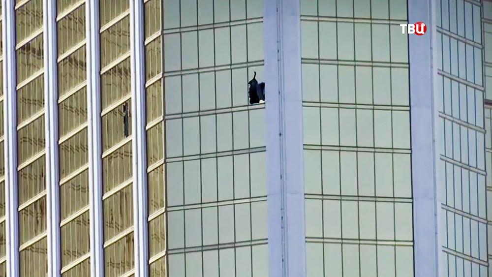 Огневая точка стрелка из Лас-Вегаса