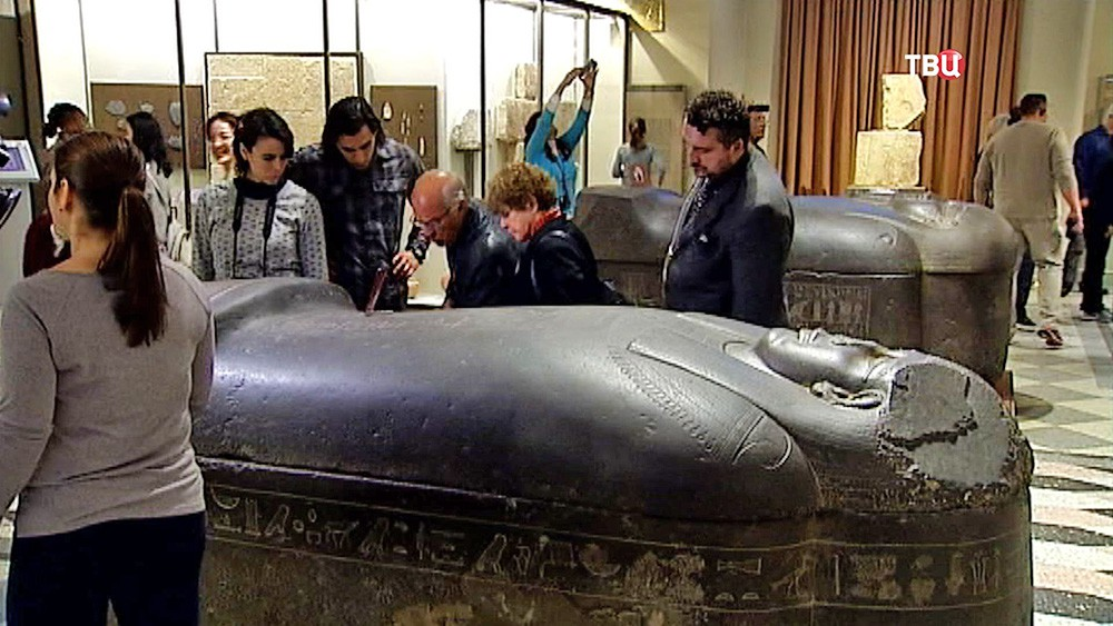 Египетский зал в Эрмитаже