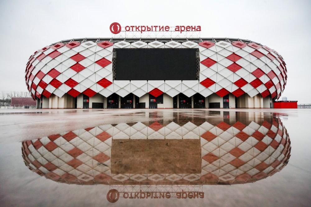 """Стадион футбольного клуба """"Спартак"""" """"Открытие арена"""""""