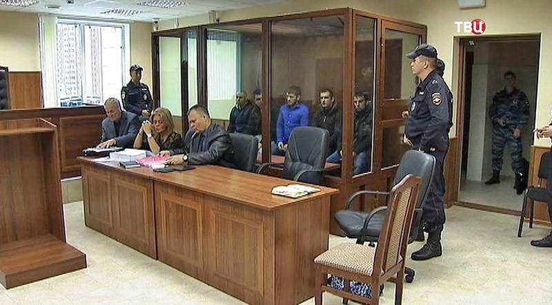 Заседание суда о массовой драке на Хованском кладбище