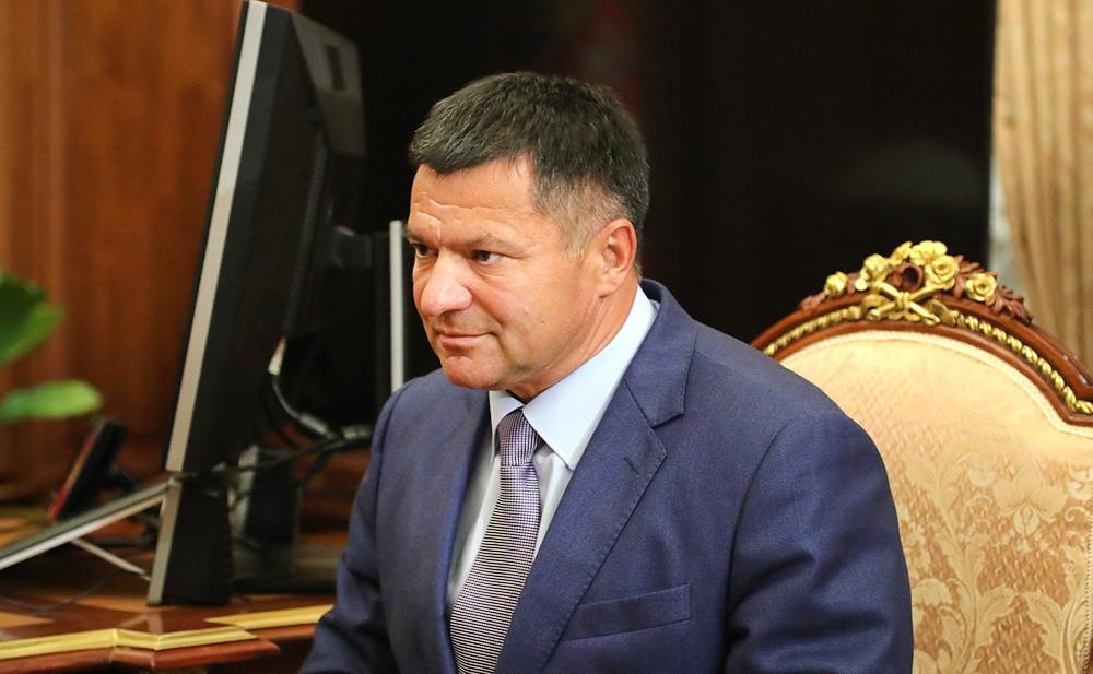 И.о. губернатора Приморского края Андрей Тарасенко