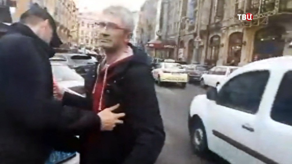 Задержание корреспондента НТВ на Украине