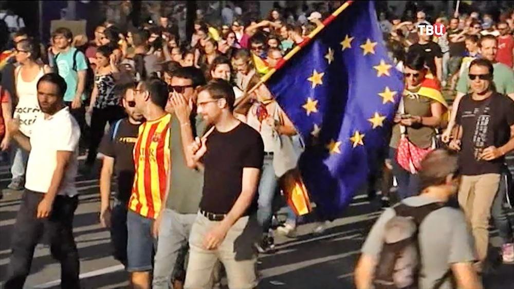 Митинг за единую Испанию