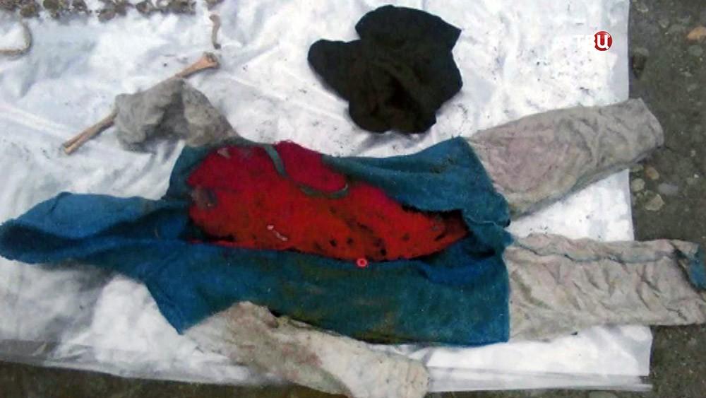 Место обнаружения останков убитой хабаровским педофилом Зыряновым девочки