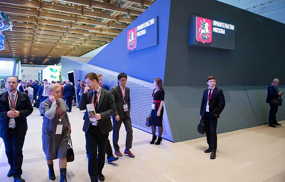 Стенд Правительства Москвы на выставке