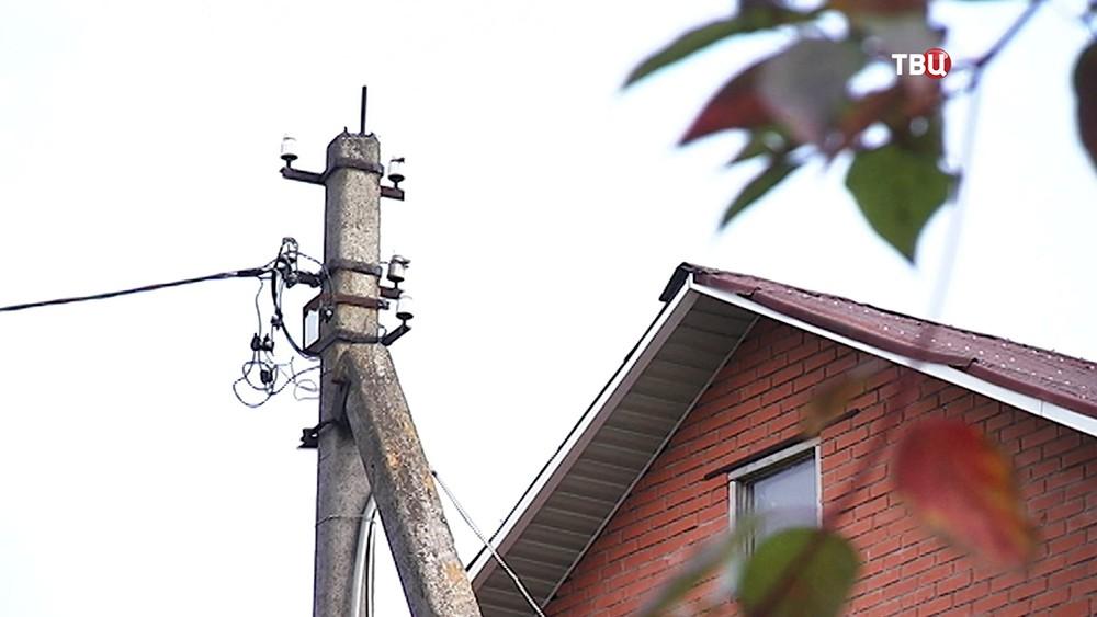Электрические столбы