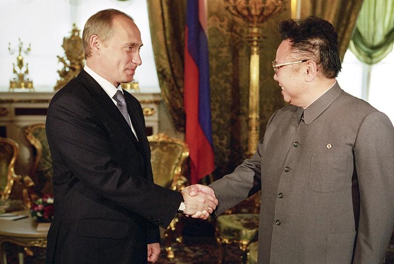 Владимир Путин и Ким Чен Ир