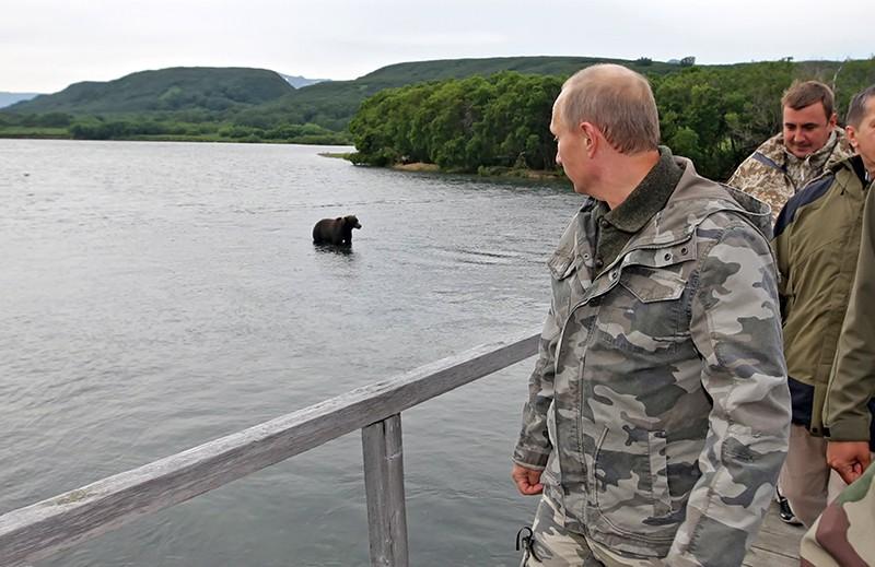 Владимир Путин посетил Южно-Камчатский заказник